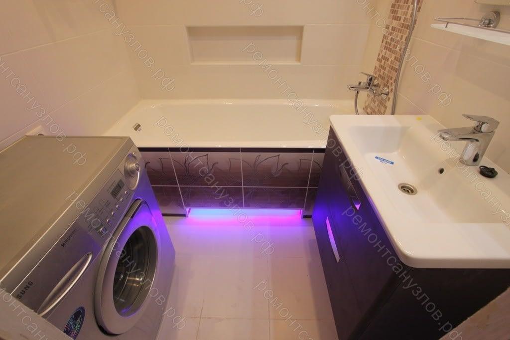 Ремонт ванной комнаты в Зеленограде под ключ