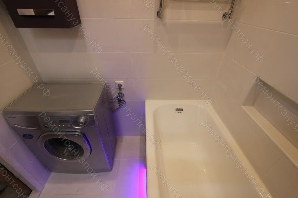 Плиточные работы в ванной комнате Зеленоград