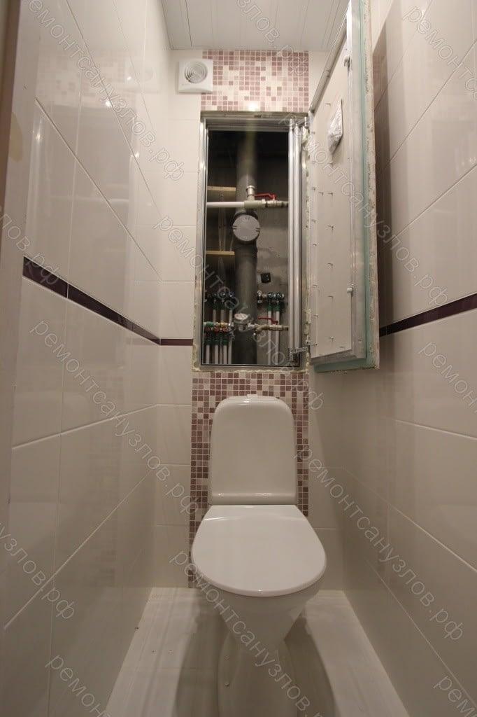 Ремонт туалета в Зеленограде под ключ