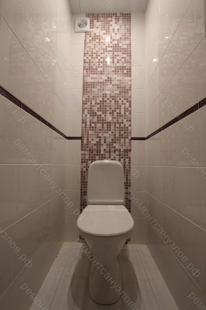 Плиточные работы в туалете Зеленоград