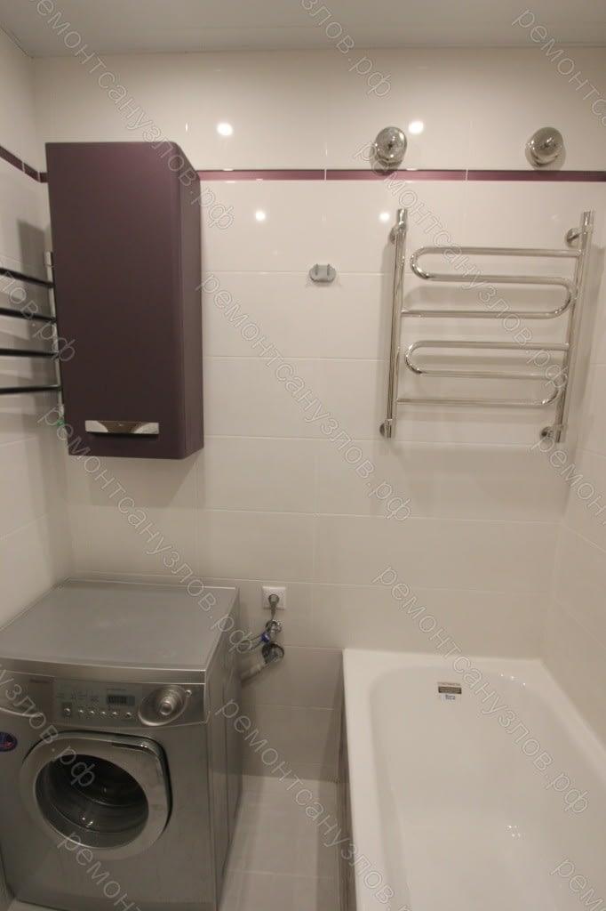 Ремонт ванной комнаты и туалета в Зеленограде под ключ
