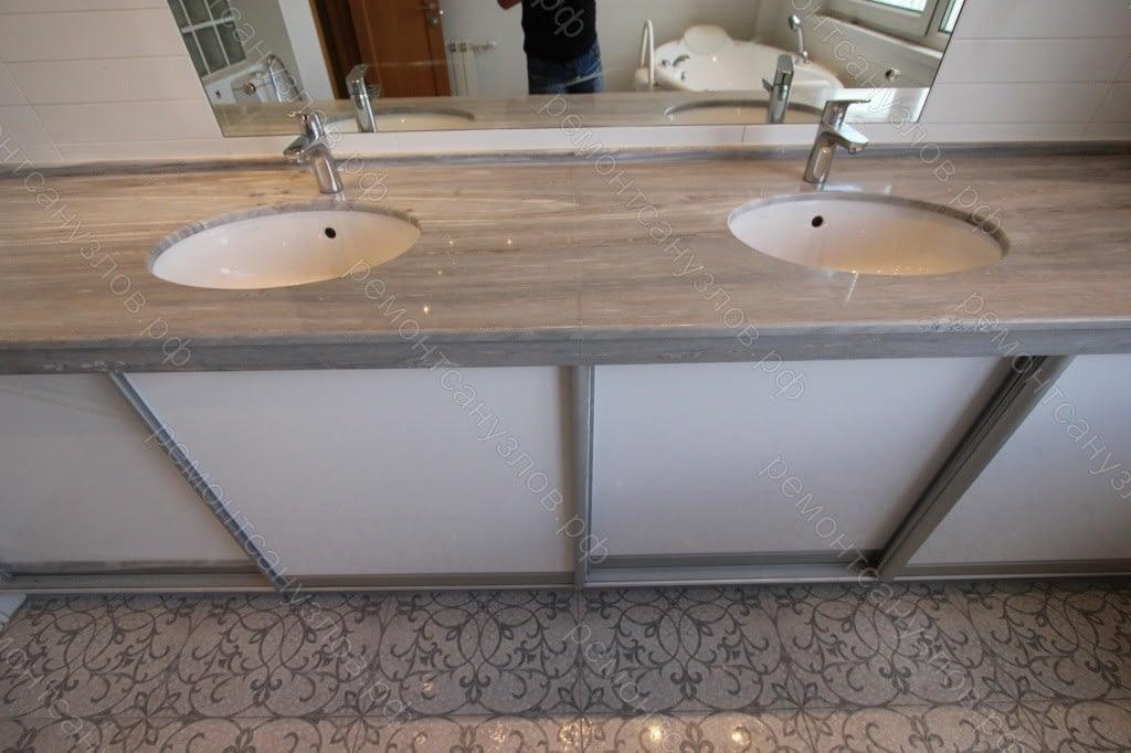 Ремонт двух ванных комнат в Зеленограде