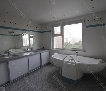 Ремонт ванной комнаты и туалета в доме в Зеленограде